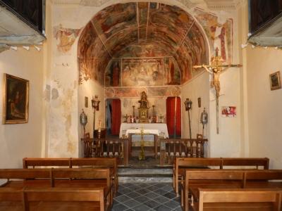 Eglise de Peillon intérieur