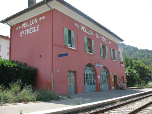 Gare de Peillon